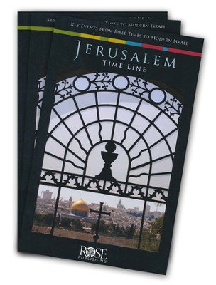 Jerusalem Time Line, Pamphlet - 5 pack   -