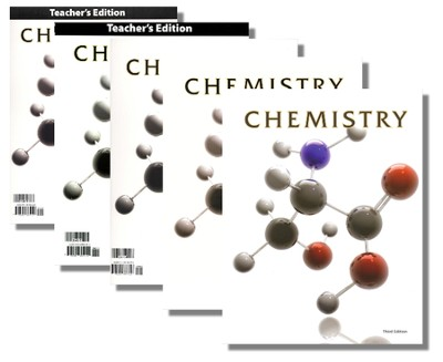 BJU Chemistry Grade 11 Homeschol Kit, Third Edition   -