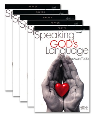 Speaking God's Language, Pamphlet - 5 Pack   -     By: Joni Eareckson Tada