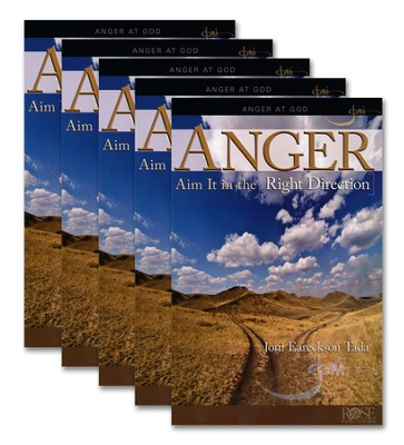 Anger: Aim it in the Right Direction 5 pack   -     By: Joni Eareckson Tada