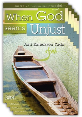 When God Seems Unjust Pamphlet - 5 Pack  -     By: Joni Eareckson Tada