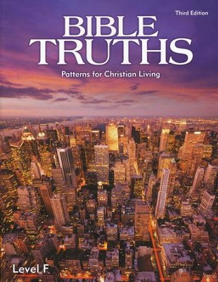 BJU Bible Truths Level F (Grade 12) Student Text, Third Edition    -