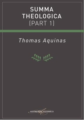 Summa Theologica (Part 1) - eBook  -     By: G.K. Chesterton