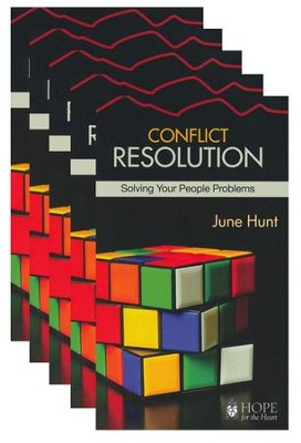 Conflict Resolution: Solving Your People Problems - 5 Pack   -