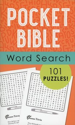 Pocket Bible Word Search: 101 Puzzles!  -