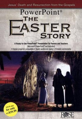 The Easter Story Powerpoint CD  -