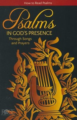 Psalms: In God's Presence Through Songs and Prayers, Pamphlet   -