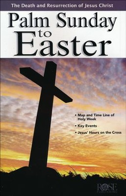 Palm Sunday to Easter Pamphlet  -