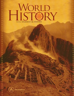 BJU World History Grade 10 Student Book, 3rd Edition    -