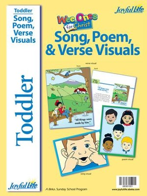 Toddler Song/Poem/Verse Visuals: Wee Ones for Christ   -