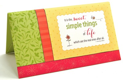 The Simple Joys Notecard Folio  -     By: Ellie Claire