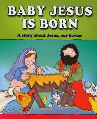 Baby Jesus Is Born Board Book  -