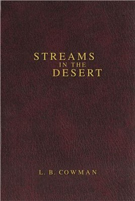 Contemporary Classic/Streams in the Desert - eBook  -     By: L.B. Cowman