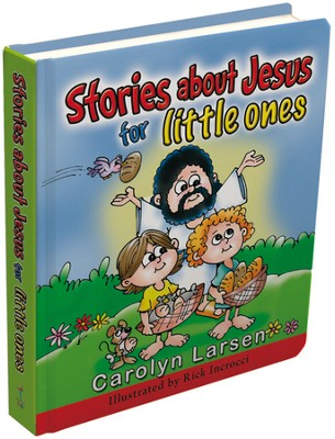 Stories About Jesus for Little Ones Board Book  -