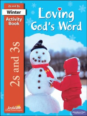 Loving God's Word (ages 2 & 3) Activity Book   -