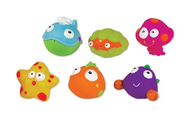 Sea Life Squeezy Squirters, Set of 6  -