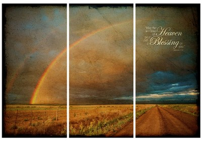 May the Windows of Heaven Wall Art  -