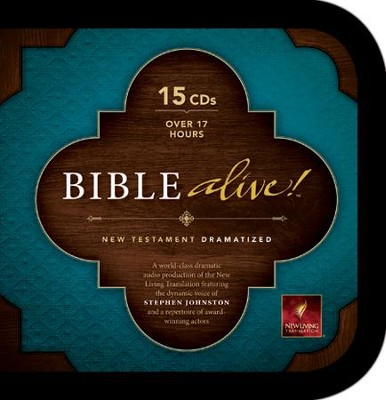 NLT Bible Alive! Audio New Testament on CD   -     Narrated By: Stephen Johnston