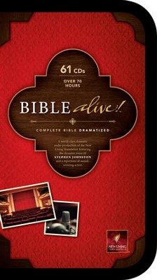 NLT Bible Alive!: Audio Bible on CD   -     By: Stephen Johnston