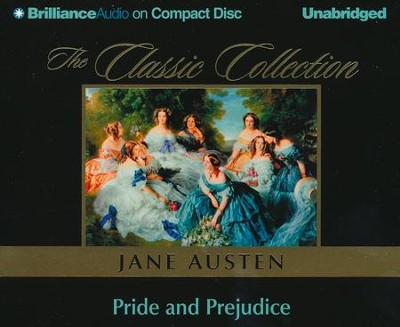 Pride and Prejudice - audiobook on CD   -     By: Jane Austen