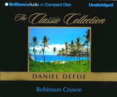 Robinson Crusoe - audiobook on CD   -     By: Daniel Defoe