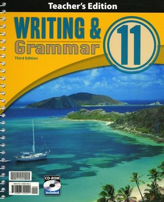 BJU Writing & Grammar Grade 11 Teacher's Edition with CD-ROM Third Edition  -