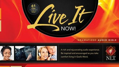 NLT Live It Now! Dramatized Audio Bible, Audio-CD  -
