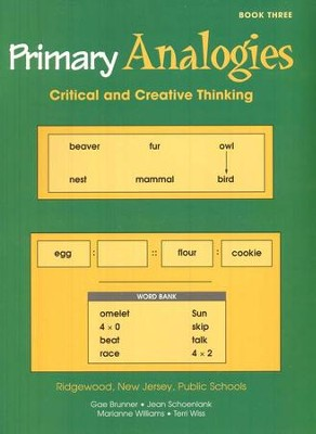 Primary Analogies, Book 3   -
