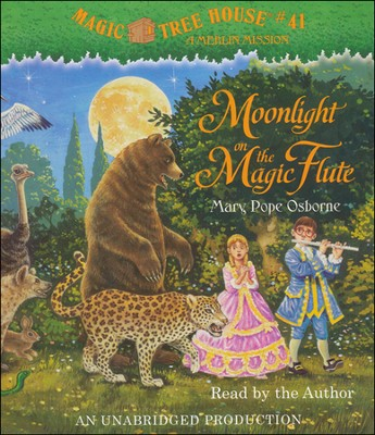 Magic Tree House #41: Moonlight Unabridged Audiobook on CD  -     By: Mary Pope Osborne     Illustrated By: Sal Murdocca