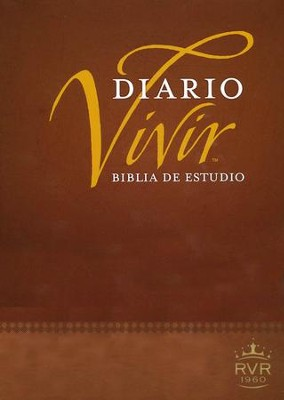 Biblia de Estudio Diario Vivir RVR 1960, Enc. Dura Ind.  (RVR 1960 Life Application Study Bible, Hardcover Ind.)  -