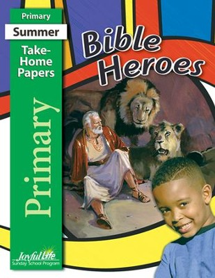 Bible Heroes Primary (Grades 1-2) Take-Home Papers   -