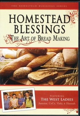 Homestead Blessings: The Art of Bread Making DVD   -