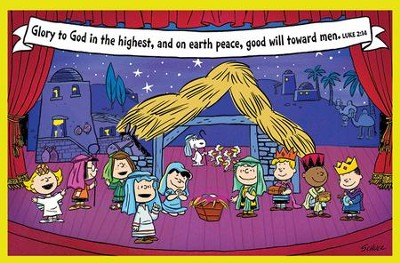 Glory to God in the Highest, Peanuts Christmas Cards,  Box of 18  -     By: Charles M. Schulz