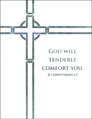 God Will Tenderly Comfort You, Sympathy Notes  -