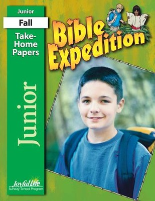 Bible Expedition Junior (Grades 5-6) Take-Home Papers   -