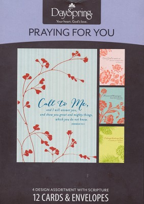 Call to Me, Praying for You Cards, Box of 12  -