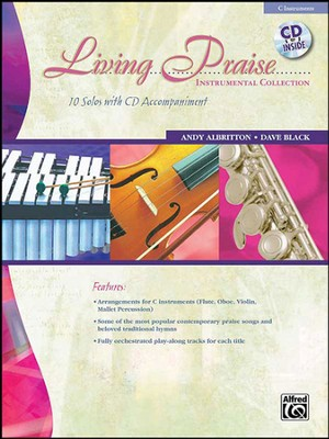 Living Praise Instrumental Collection C Instruments (Flute, Oboe, Violin, Mallet Percussion)  -