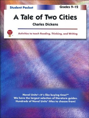Tale of Two Cities, Novel Units Student Packet, Grades 9-12   -     By: Charles Dickens