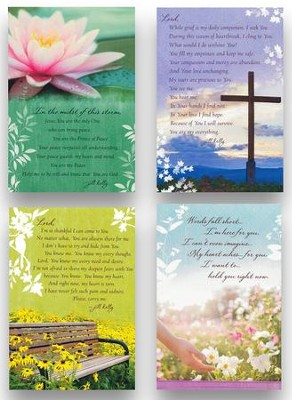 Sympathy Cards, Jill Kelly, Box of 12  -     By: Jill Kelly