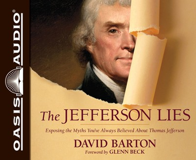 Jefferson Lies: Exposing the Myths You've Always Believed About Thomas Jefferson Audiobook CD  -     By: David Barton