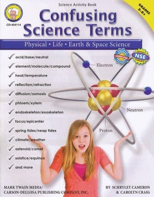 Confusing Science Terms Grades 5-8+   -     By: Schrylet Cameron, Carolyn Craig