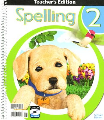 BJU Spelling Grade 2 Teacher's Edition with CD-Rom (Second Edition)    -