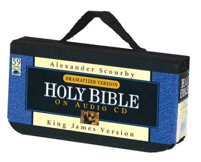 KJV Audio Bible Dramatized on CD   -     Narrated By: Alexander Scourby