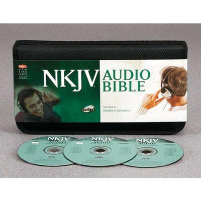 NKJV Bible        - Audio Bible on CD  -     Narrated By: Stephen Johnston     By: Narrated by Stephen Johnston