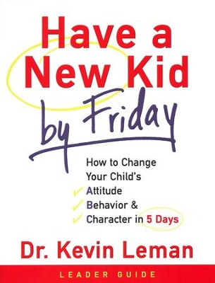 Have a New Kid by Friday Leader Guide - Slightly Imperfect  -