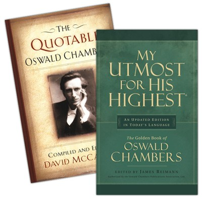 Oswald Chambers 2 Pack   -     By: Oswald Chambers