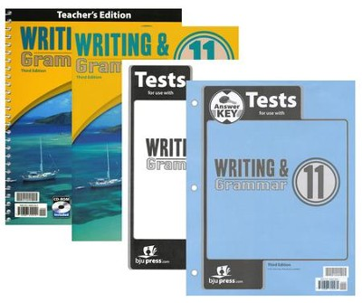 BJU Writing & Grammar Grade 11, Third Edition   -