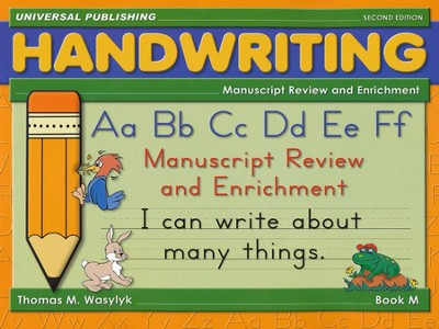 Manuscript Enrichment, Book M, Grade 2   -     By: Thomas M. Wasylyk