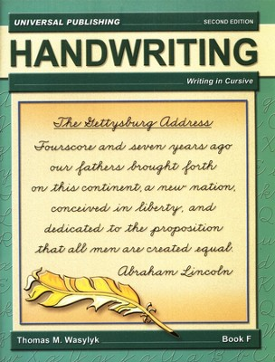Cursive Writing-Book F, 2nd Edition Grade 5  -     By: Thomas M. Wasylyk