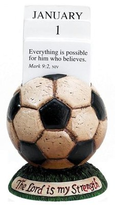 Soccer Scripture Holder Calendar  -